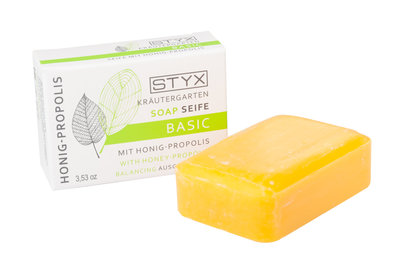 Kräutergarten basic zeep met honing 100g