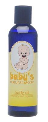 Baby's natuurlijke lichaamsolie 200ml
