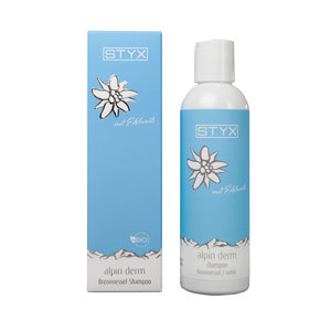 Alpin Derm brandnetel shampoo met edelweiss 200ml